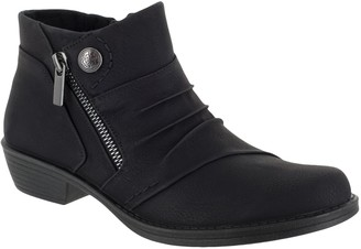 Easy Street Shoes Comfort Booties - Sable