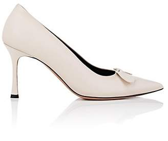 The Row WOMEN'S CHAMPAGNE LEATHER PUMPS