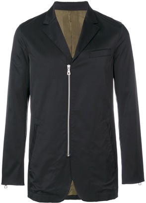 Jean Paul Gaultier Pre-Owned zip detail blazer
