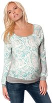 A Pea in the Pod Banded Bottom Maternity Shirt