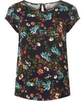 Dorothy Perkins Womens **Only Navy Floral Shell Top
