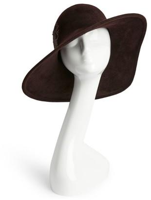Philip Treacy Embroidered Unicorn Bucket Hat