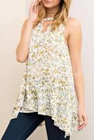 Entro Floral Print Blouse