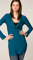 T-Bags Pacific Funnel Neck Long Top