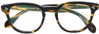 Oliver Peoples Kauffman round frame glasses