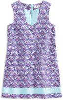 Vineyard Vines Girls' Scallop Print Tunic Shift Dress