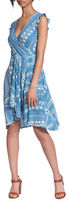 Plenty by Tracy Reese Printed Surplice Dress