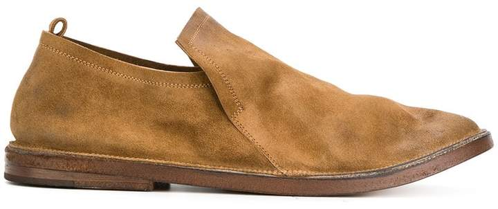Marsèll slouched slip-on loafers