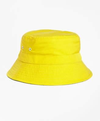 Brooks Brothers Reversible Nylon Bucket Hat