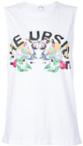 The Upside flowers print tank