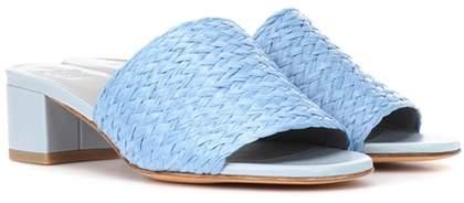 Maryam Nassir Zadeh Sophie woven raffia sandals