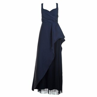 Adrianna Papell Mikado Long Dress