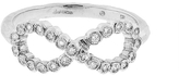 Cathy Waterman Infinity Ring with Diamonds - Platinum
