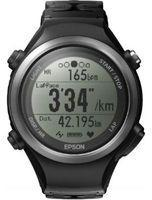 Epson Unisex Runsense GPS Bluetooth Smart SF810B Heart Rate Monitor Alarm Chronograph Radio Controlled Watch E11E209023