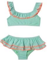 Hula Star 'Sailor Stripe' Two-Piece Swimsuit (Toddler Girls & Little Girls)