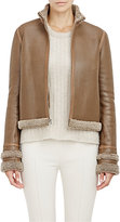The Row Women's Shearling-Lined Niedton Jacket