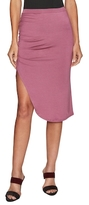 Rachel Pally Effie Ruche Side Pencil Skirt