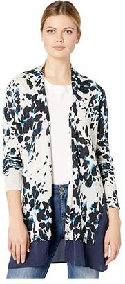 Nic+Zoe Positive Outlook Cardigan (Multi) Women's Clothing