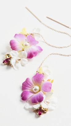 Anton Heunis Flower Motif Earrings