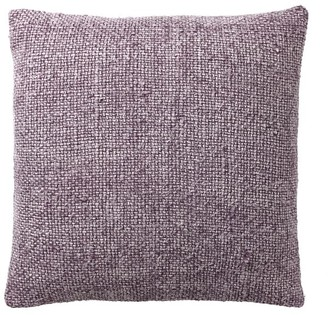 Pottery Barn Faye Textured Linen Pillow Cover - Thistle