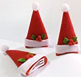 Cuhair(tm) 3pcs New year Christmas hat design hair clip barrettes Accessories for Girl Teens Baby Toddlers Gift