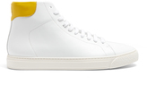Anya Hindmarch Wink high-top leather trainers