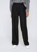 Hope Black Stripe Ridge Trouser