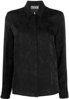 Versace Jeans Couture Logo Baroque-pattern shirt