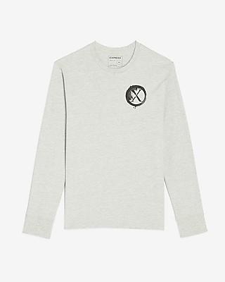 Express Logo Long Sleeve Graphic T-Shirt