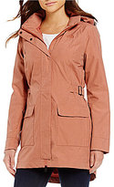 The North Face Tomales Bay Waterproof Removable-Hood Solid Anorak Jacket