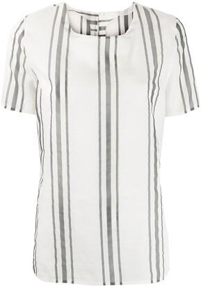 Fabiana Filippi Striped Print Blouse