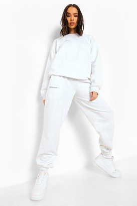 boohoo Wellness Print Hooded Tracksuit