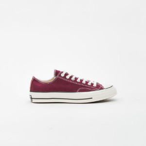 Converse Dark Burgundy Chuck Taylor All Star 70 Ox Sneakers - 45 - Red