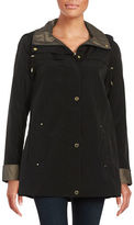 Gallery Plus Hooded A-Line Raincoat