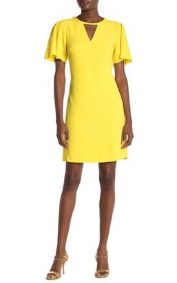 Trina Turk Anderson Flutter Sleeve Shift Dress