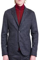 Lanvin Two-Button Houndstooth Jacket