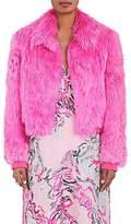 Sies Marjan Women's Muffy Alpaca Fur Bomber Jacket