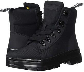 Dr. Martens Combs Tract (Black/Black Ajax/Extra Tough Nylon) Women's Shoes