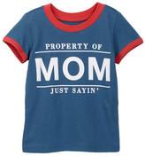 Mighty Fine Property Of Mom Tee (Baby Boys)
