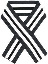 Neil Barrett striped scarf