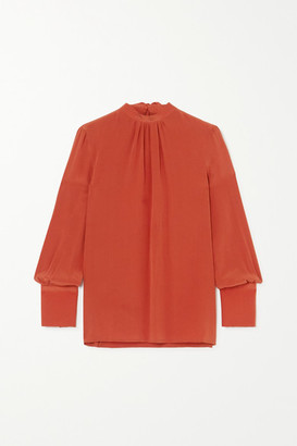 Yoox Net A Porter For The Prince's Foundation YOOX NET-A-PORTER For The Prince's Foundation - Organic Silk Blouse - Orange