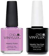 CND Creative Nail Design Vinylux Beckoning Be Nail Polish & Top Coat (Two Items), 0.5-oz, from Purebeauty Salon & Spa