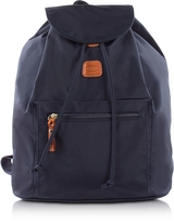 Bric's X-Travel Blue Nylon Backpack