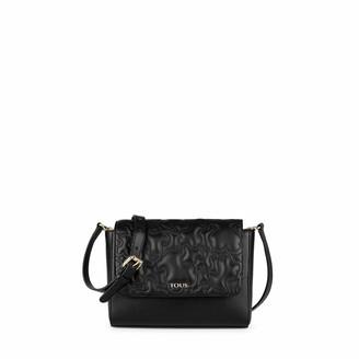 Tous K Capitone Womens Messenger Bag Black (Negro 695900279) 24x18x7 centimeters (W x H x L)