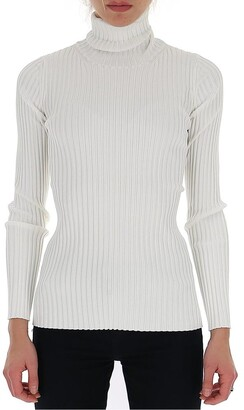 Proenza Schouler Belted Detail Turtleneck Sweater