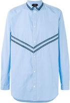 No.21 chevron pattern shirt - men - Cotton - 52
