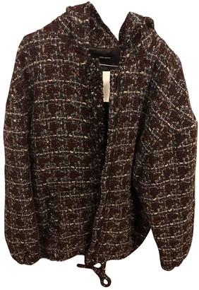 Isabel Marant Burgundy Tweed Jacket for Women