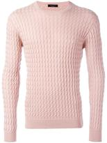 Roberto Collina braided detail jumper - men - Cotton - 50