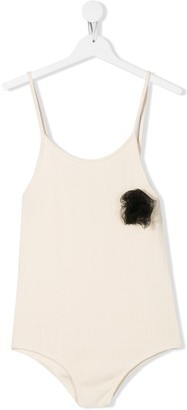 Little Creative Factory Kids Tulle-Detail Playsuit