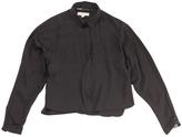 Burberry Black Silk Top